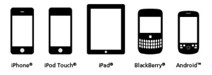 mobile device icons Strong Close 15 Digital Guide