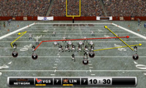 3 levels passing concept 300x180 Madden Tips | Madden | Football Plays | Football Strategies