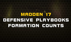 madden 17 defensive playbooks formation counts 300x180 Madden Tips | Madden | Football Plays | Football Strategies