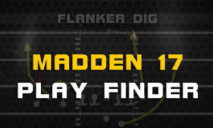 madden 17 play finder 300x180 Madden Tips | Madden | Football Plays | Football Strategies