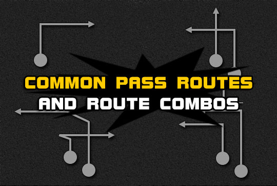 football common pass routes route combos Madden Tips | Madden | Football Plays | Football Strategies